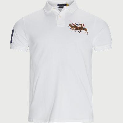 Polo T-shirt Slim fit | Polo T-shirt | Hvid
