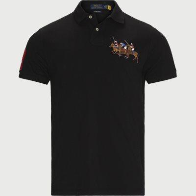 Polo T-shirt Slim fit | Polo T-shirt | Sort