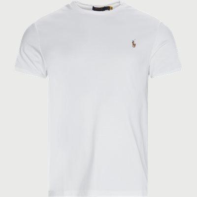 Logo T-shirt Slim fit | Logo T-shirt | Hvid