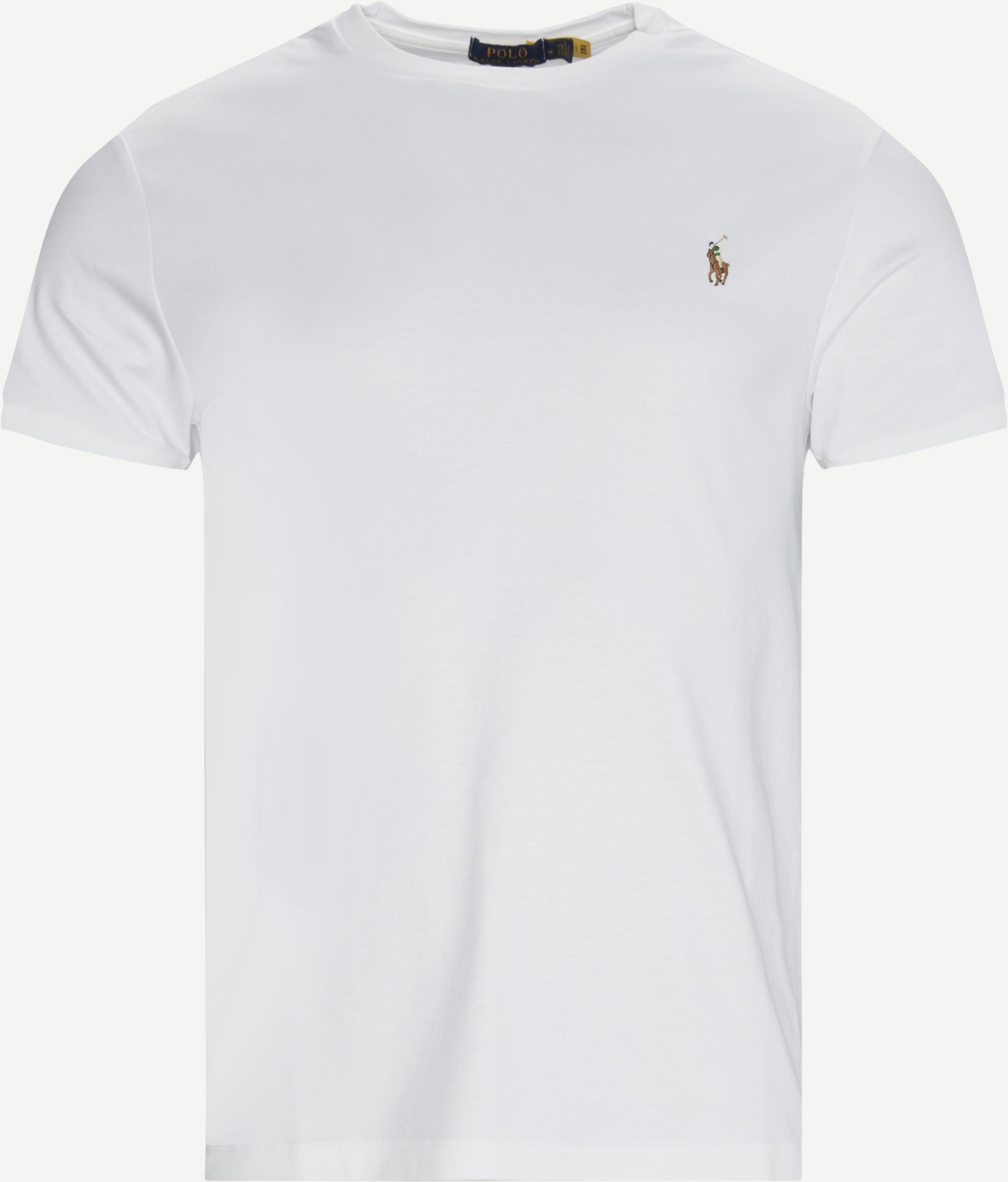 Logo T-shirt - T-shirts - Slim fit - White