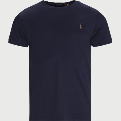 Logo T-shirt Slim fit | Logo T-shirt | Blå