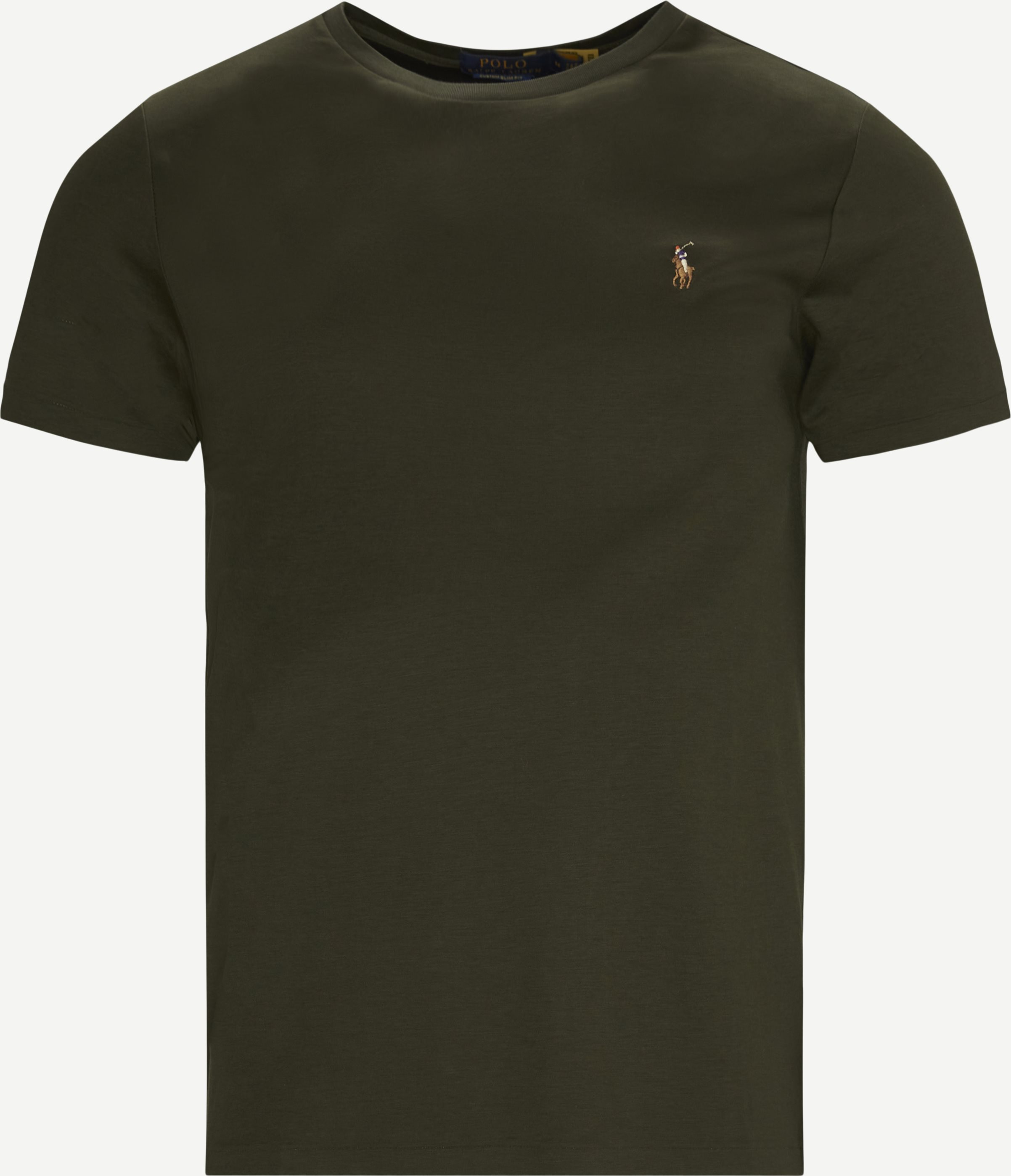 Logo T-shirt - T-shirts - Slim - Army
