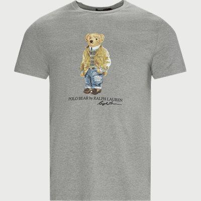 Polo Bear T-shirt Slim fit | Polo Bear T-shirt | Grå