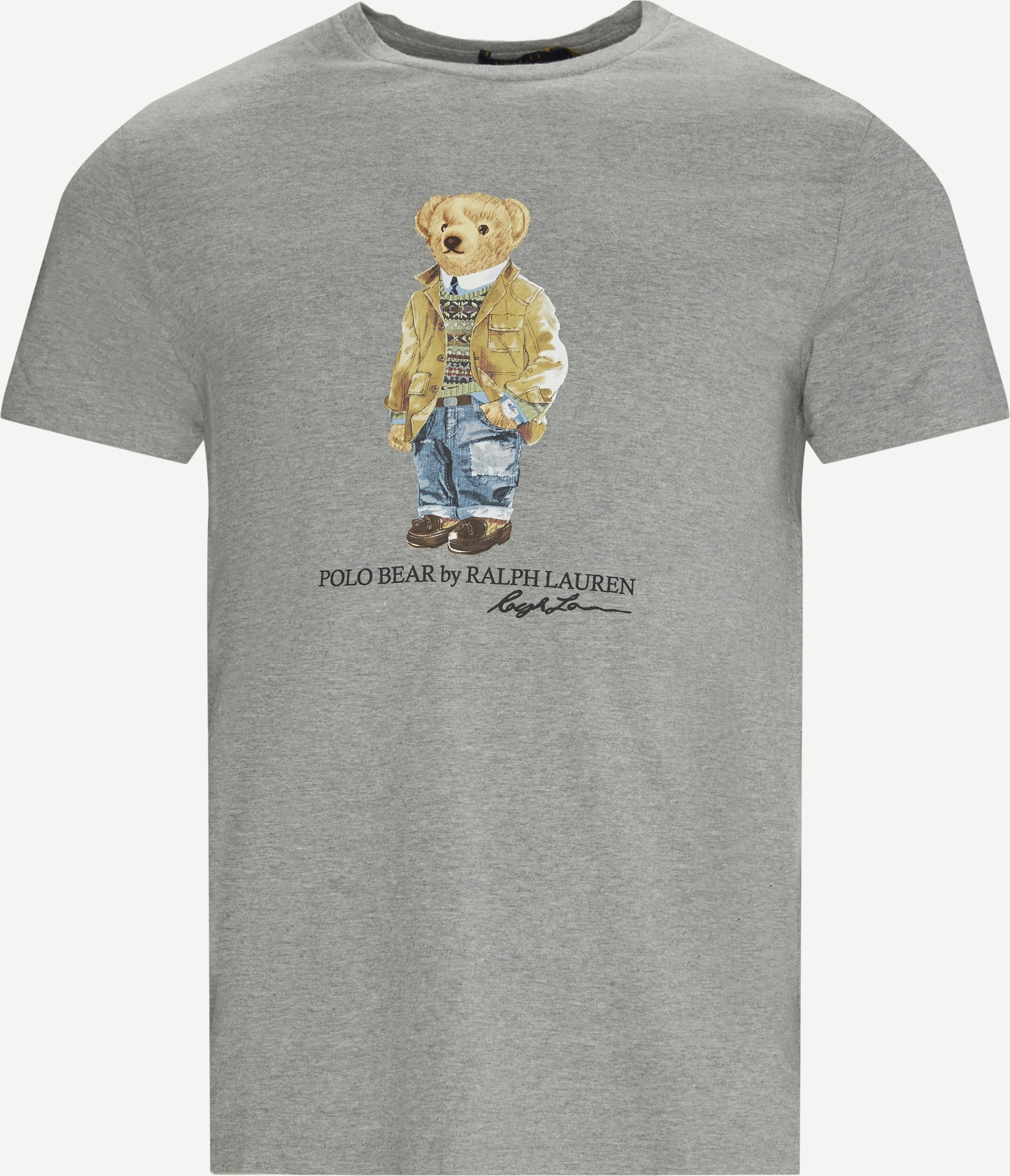 Polo Bear T-shirt - T-shirts - Slim - Grå