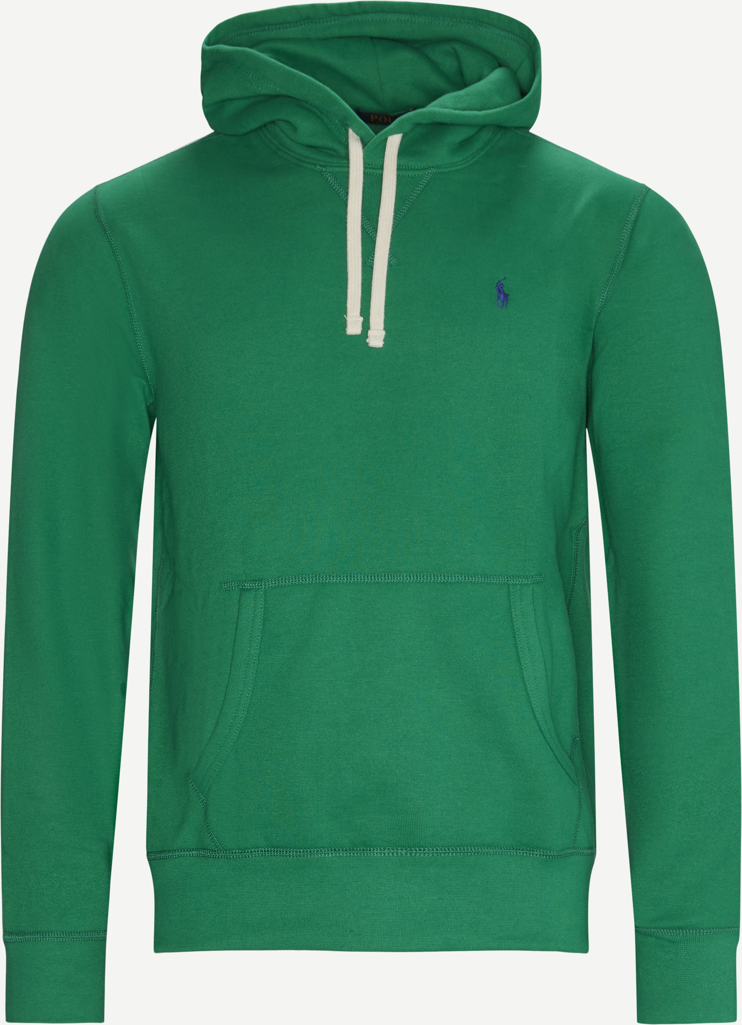 Hooded Sweatshirt - Sweatshirts - Regular - Green