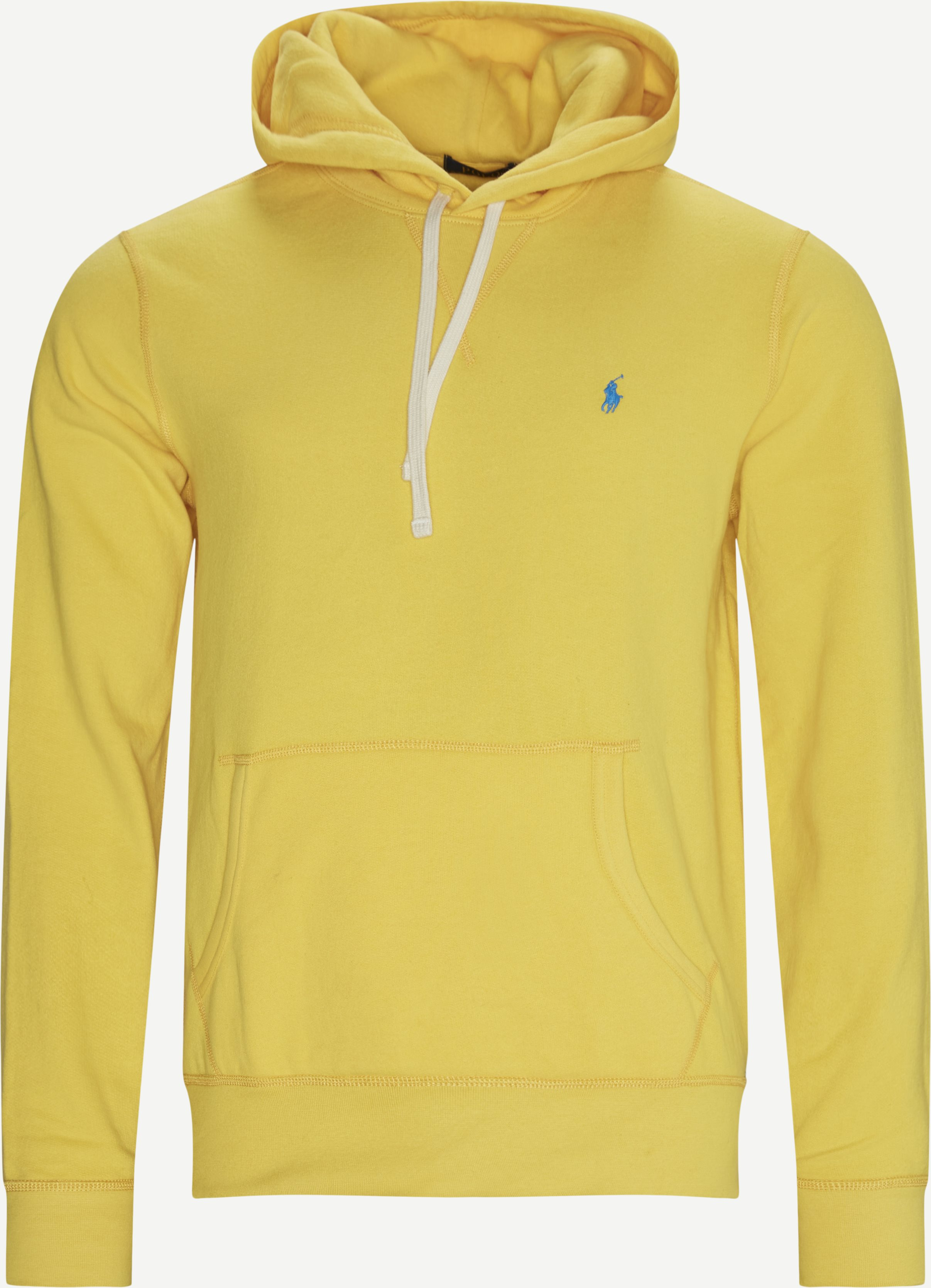 Hooded Sweatshirt - Sweatshirts - Regular - Yellow