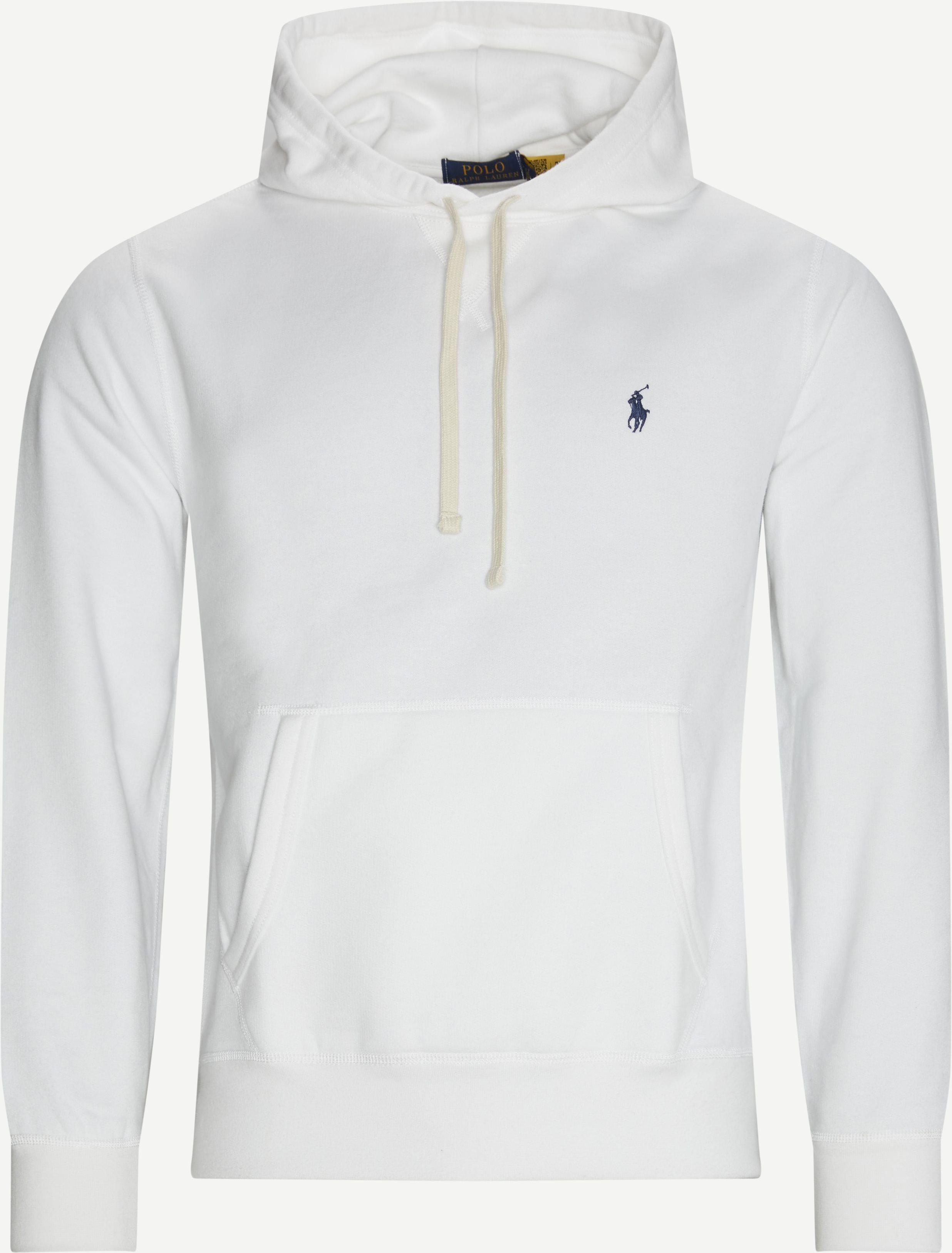 Hooded Sweatshirt - Sweatshirts - Regular fit - White