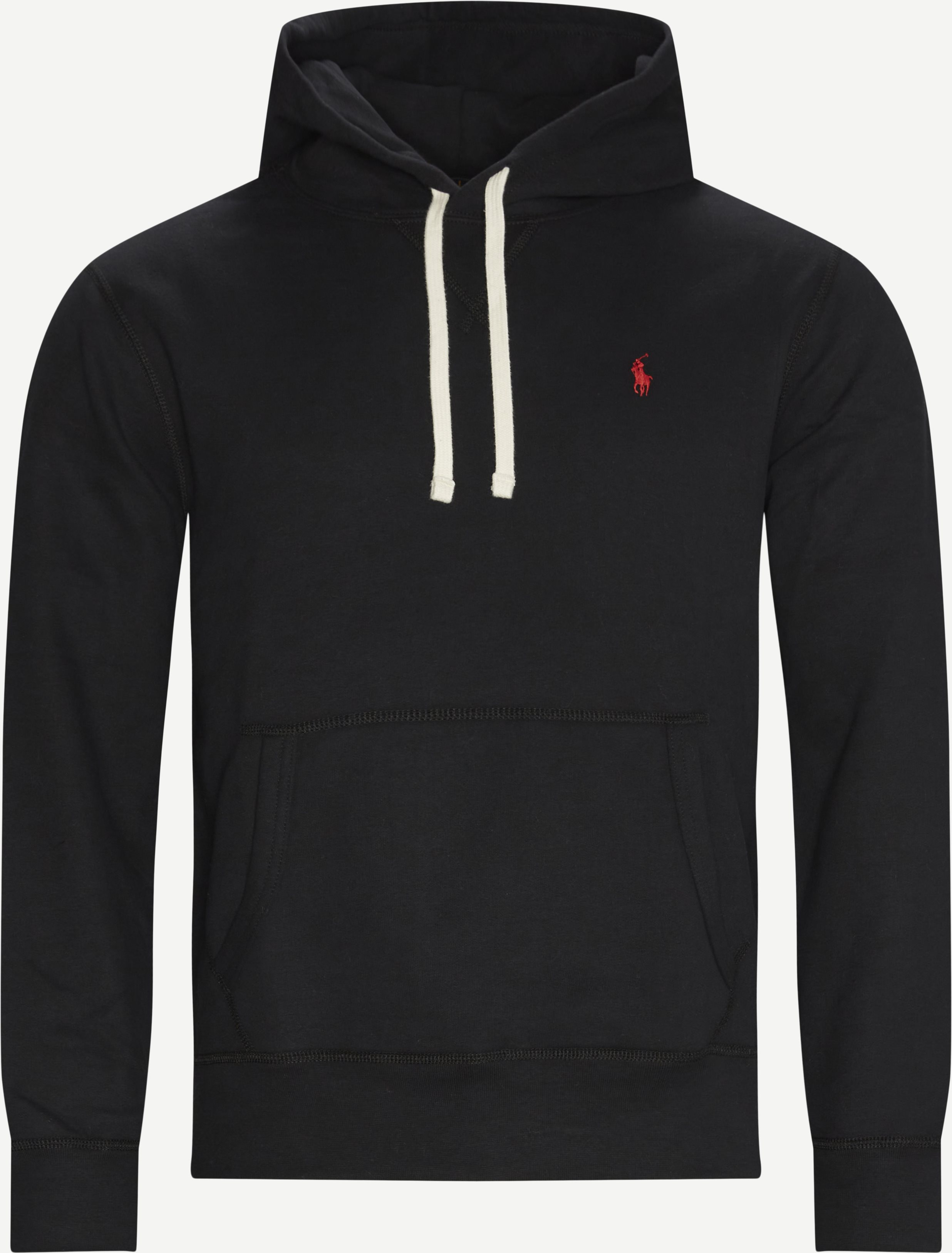 Hooded Sweatshirt - Sweatshirts - Regular fit - Black