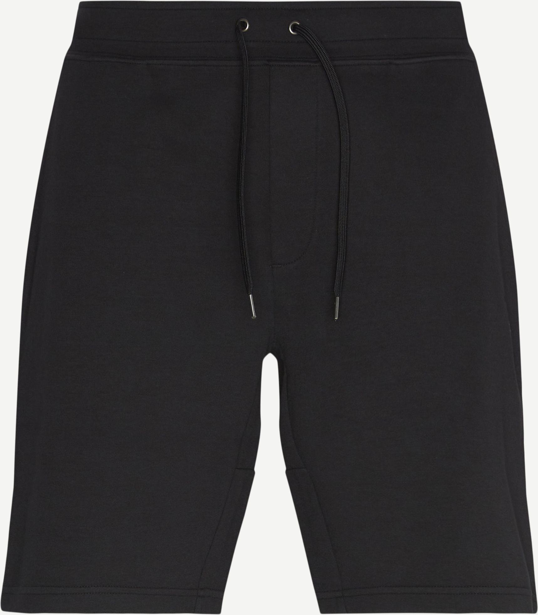 Cotton Shorts - Shorts - Regular fit - Sort