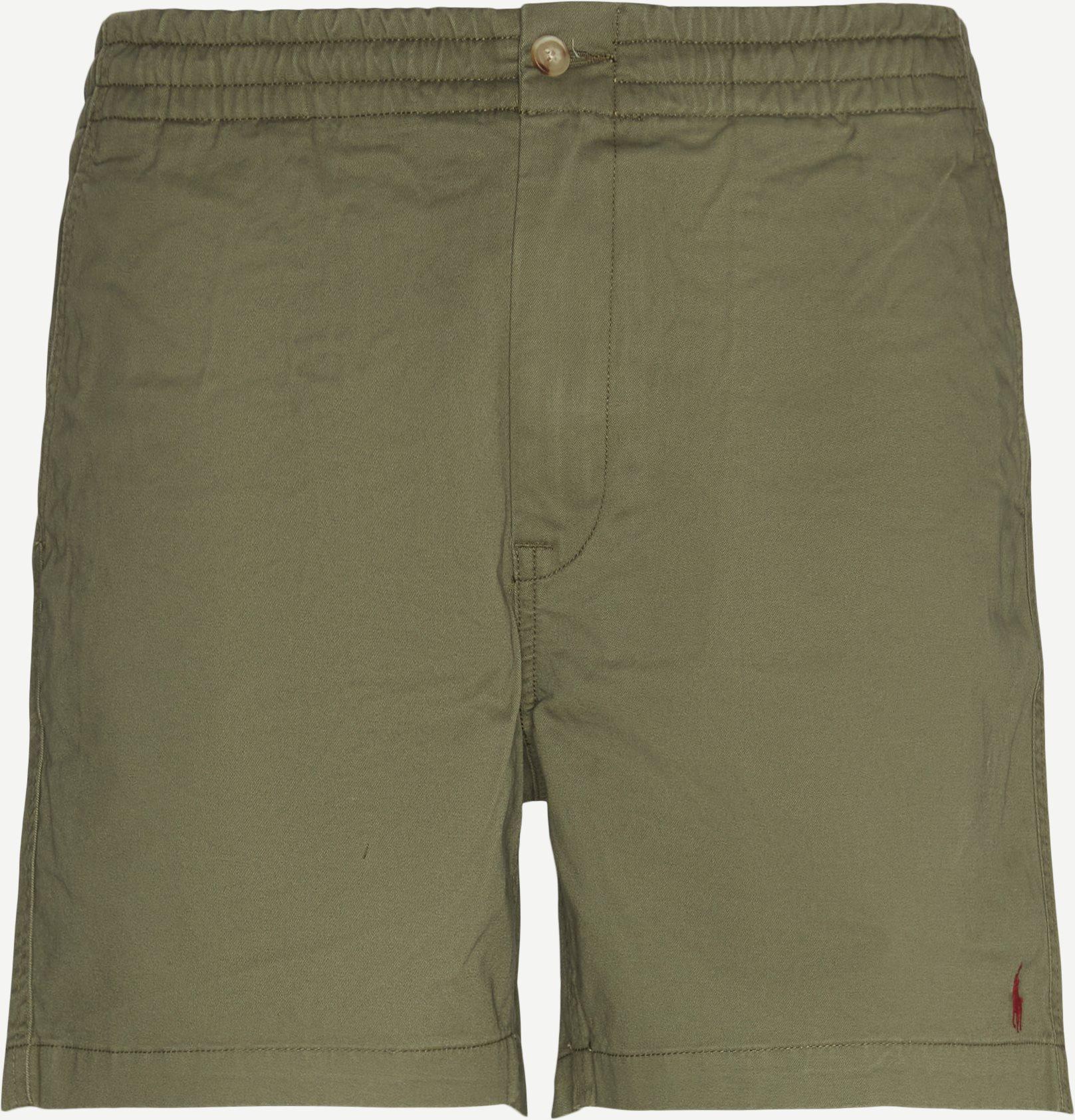 Chino Shorts - Shorts - Regular fit - Army