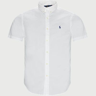 Logo Seersucker Shirt Slim fit | Logo Seersucker Shirt | Hvid