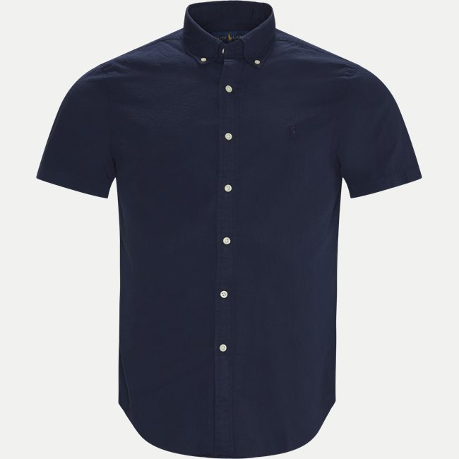Logo Seersucker Shirt