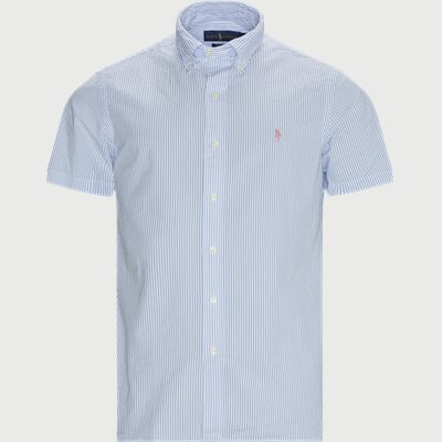 Custom fit | Short-sleeved shirts | Blue