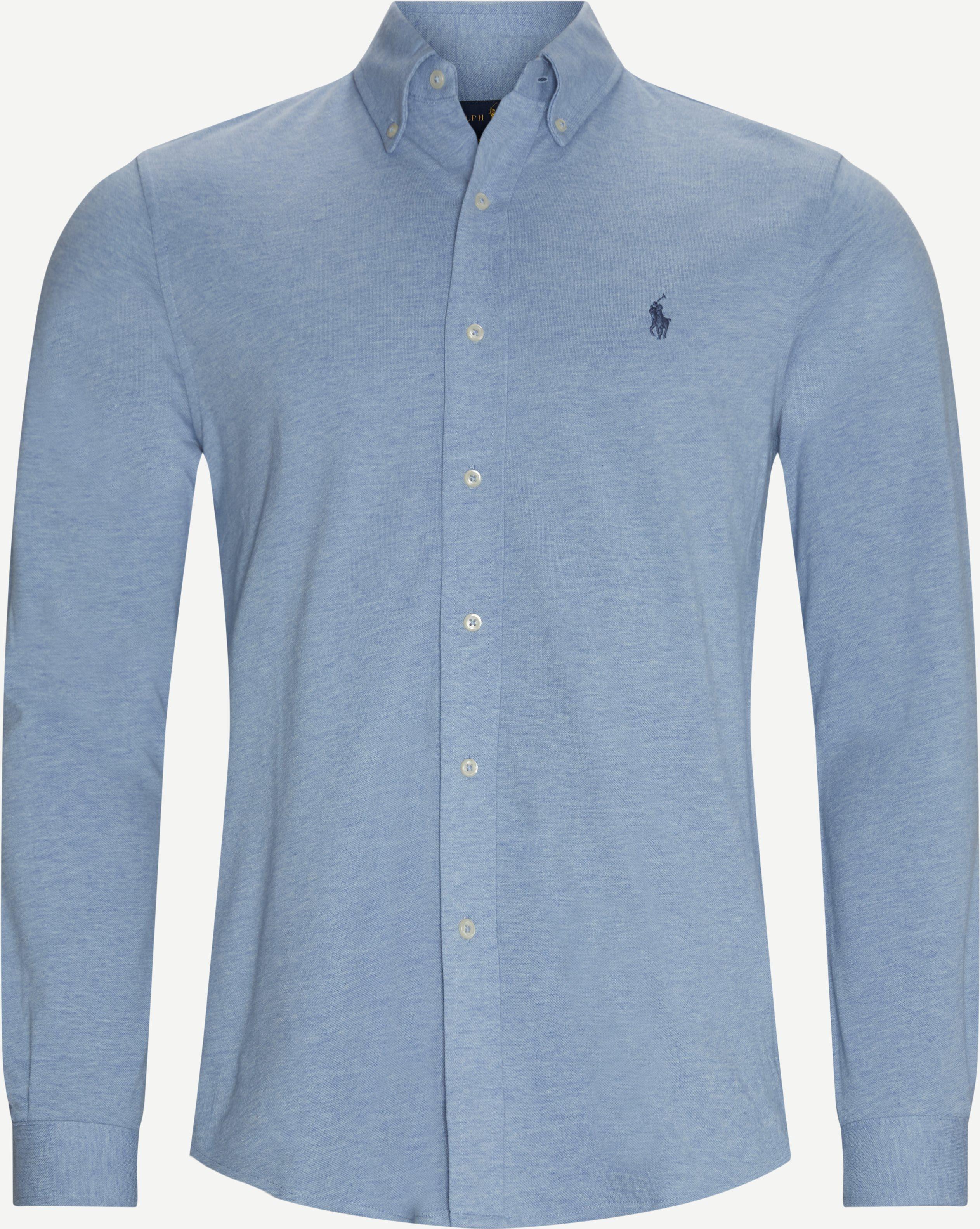 710654408 Skjorte - Skjortor - Regular - Blå
