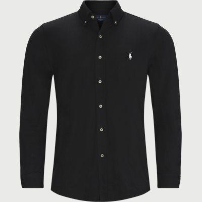 710654408 Skjorte Regular fit | 710654408 Skjorte | Sort