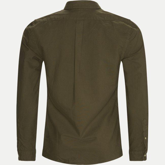 Ensfarvet Skjorte