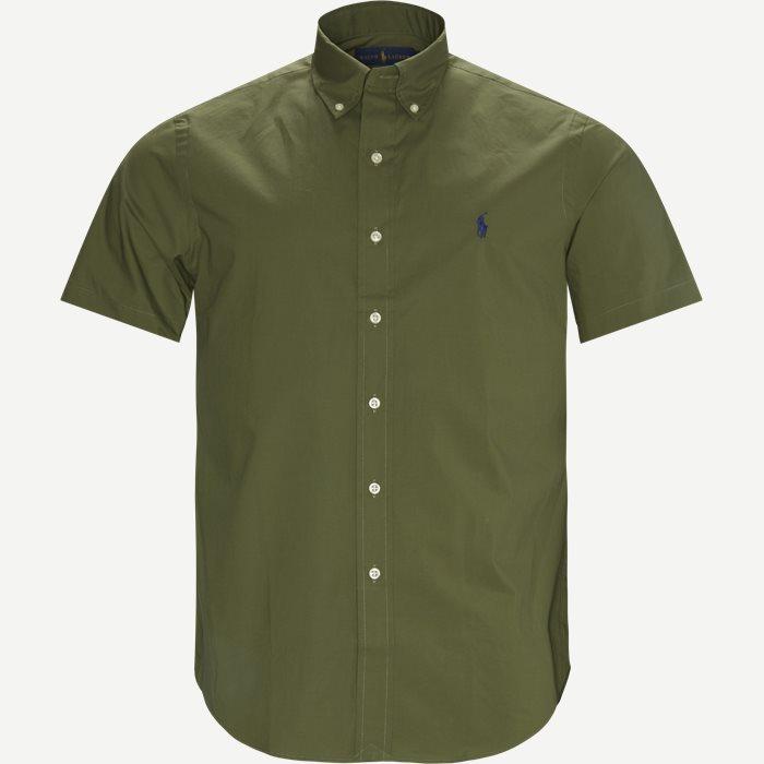 Kortärmade skjortor - Armé