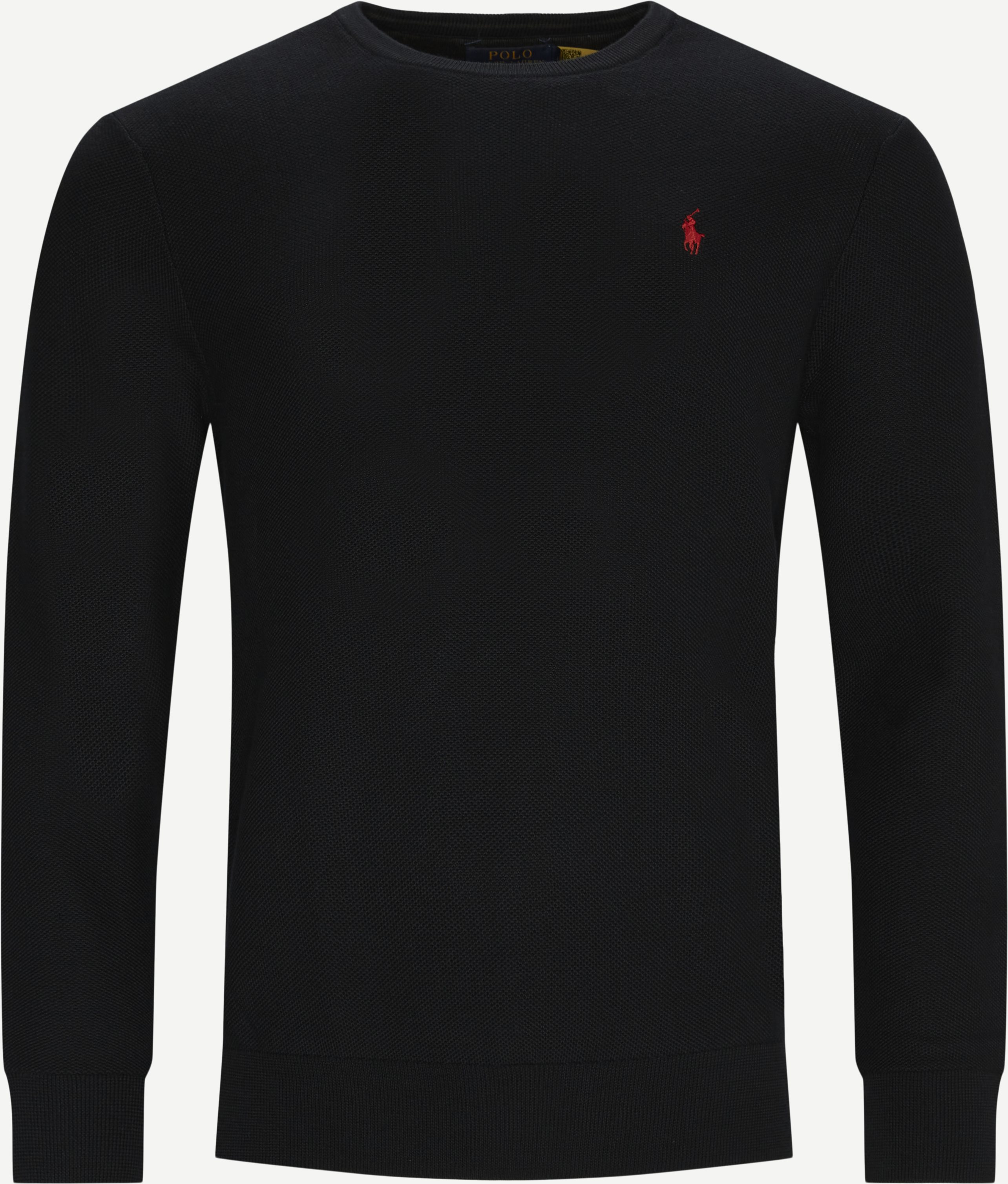 Classic Logo Strik - Knitwear - Regular - Black