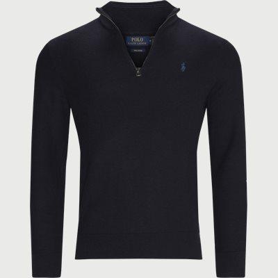 Half-Zip Sweatshirt Regular | Half-Zip Sweatshirt | Blå