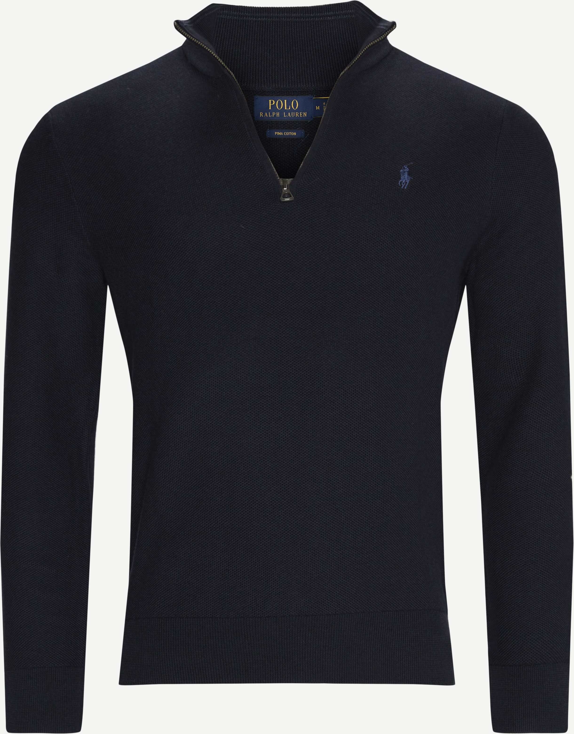 Half-Zip Sweatshirt - Half-zip sweatshirts - Regular - Blå