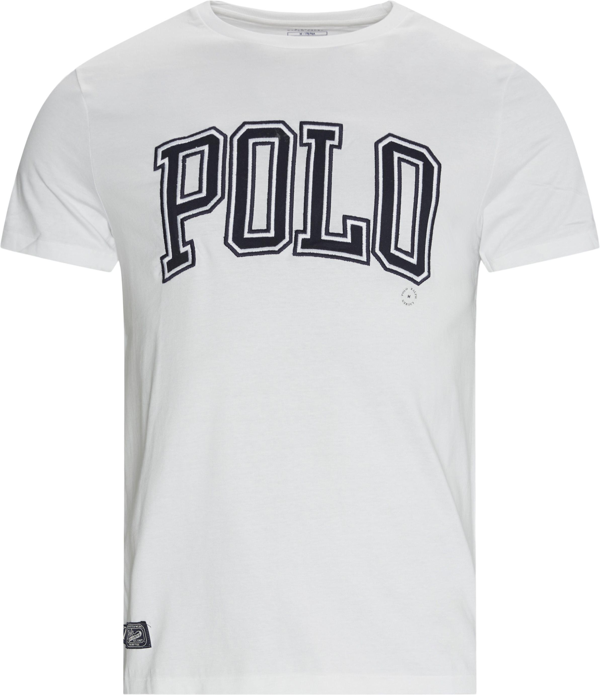 Logo Tee - T-shirts - Regular - White