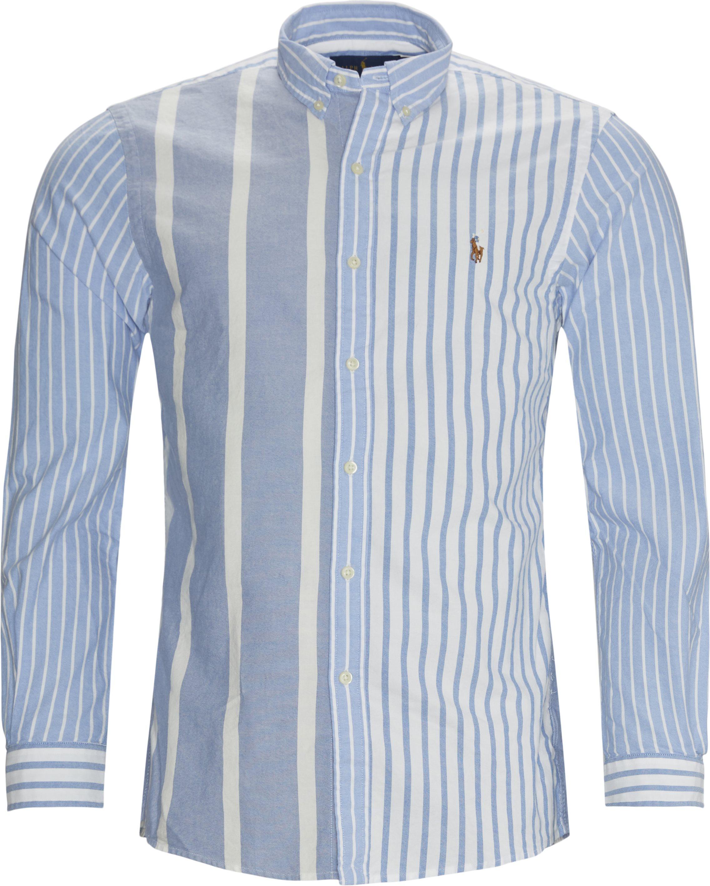 Stripe Shirt - Skjorter - Slim fit - Blå
