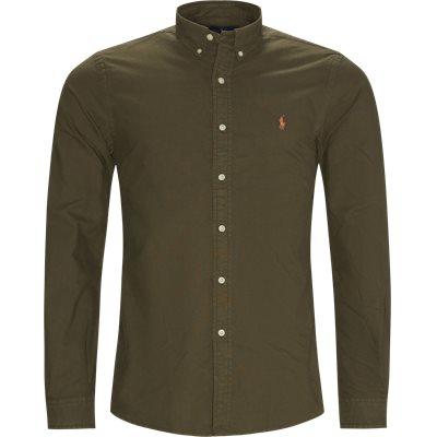 Button-down Skjorte Slim fit | Button-down Skjorte | Army