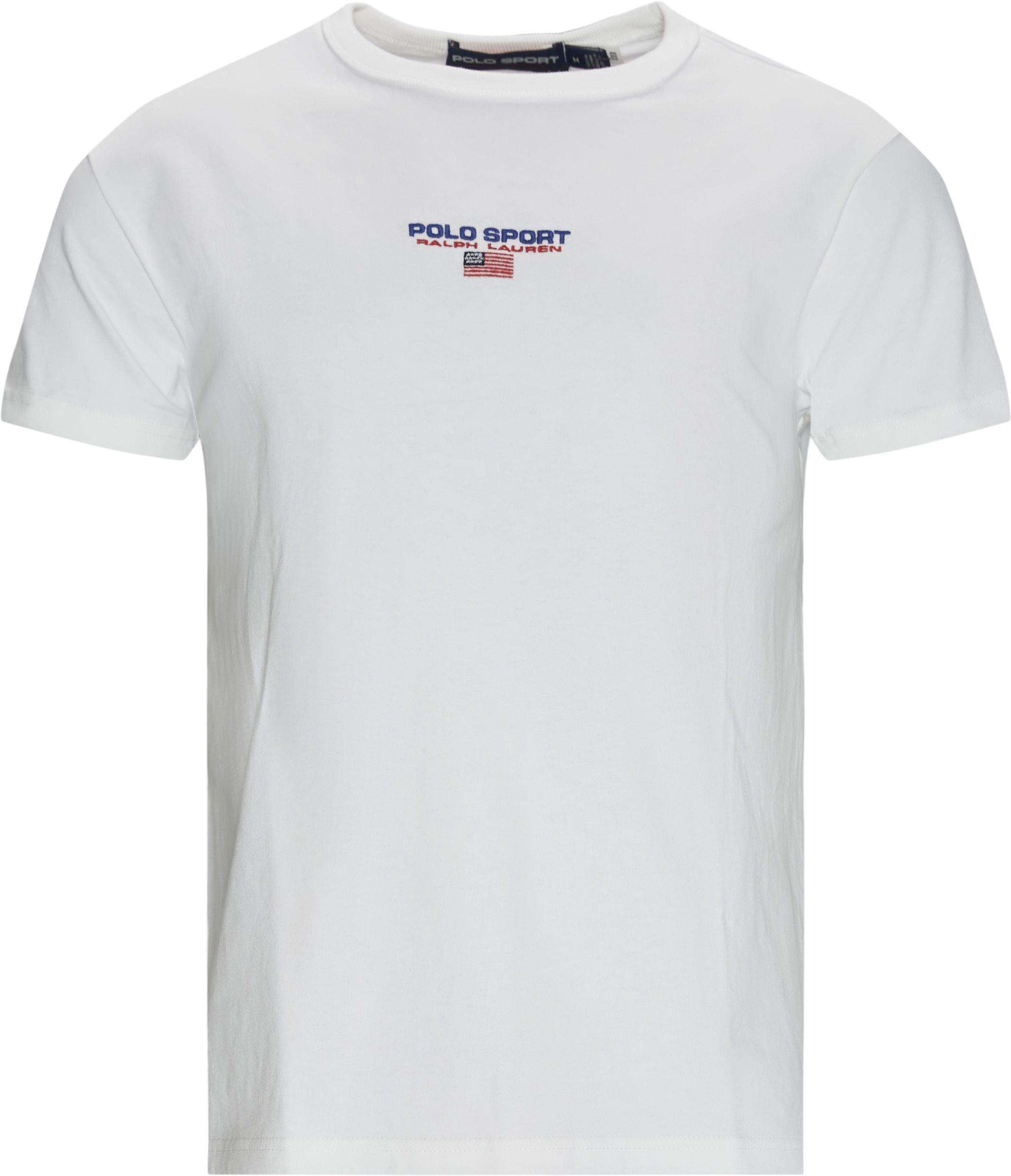 Logo Tee - T-shirts - Regular fit - Hvid