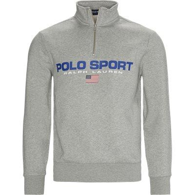 Zip Sweatshirt Regular fit | Zip Sweatshirt | Grå