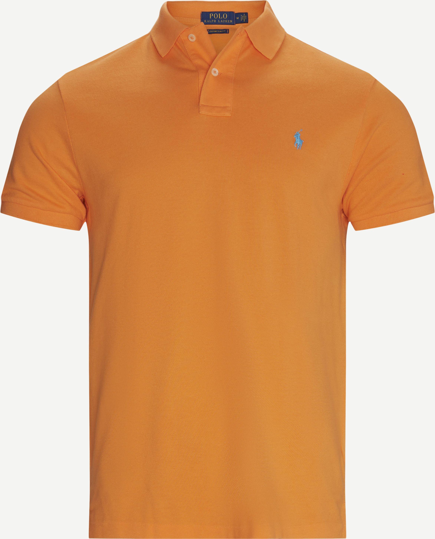 T-shirts - Regular - Orange