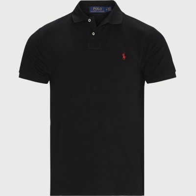 Polo T-shirt Regular | Polo T-shirt | Sort