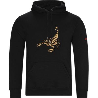 Scorpion Hoodie Regular fit | Scorpion Hoodie | Svart