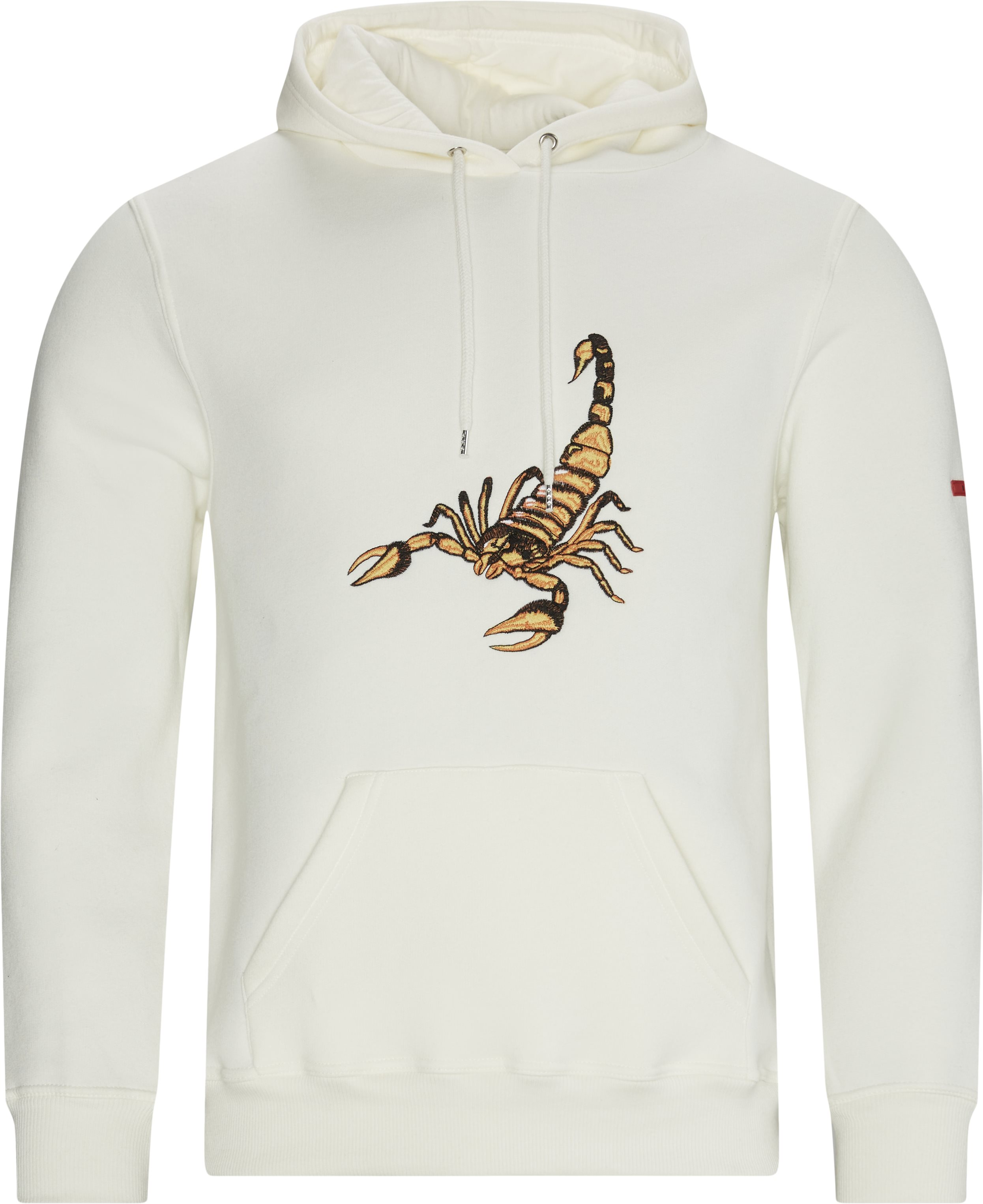 Scorpion Hoodie - Sweatshirts - Regular - Sand
