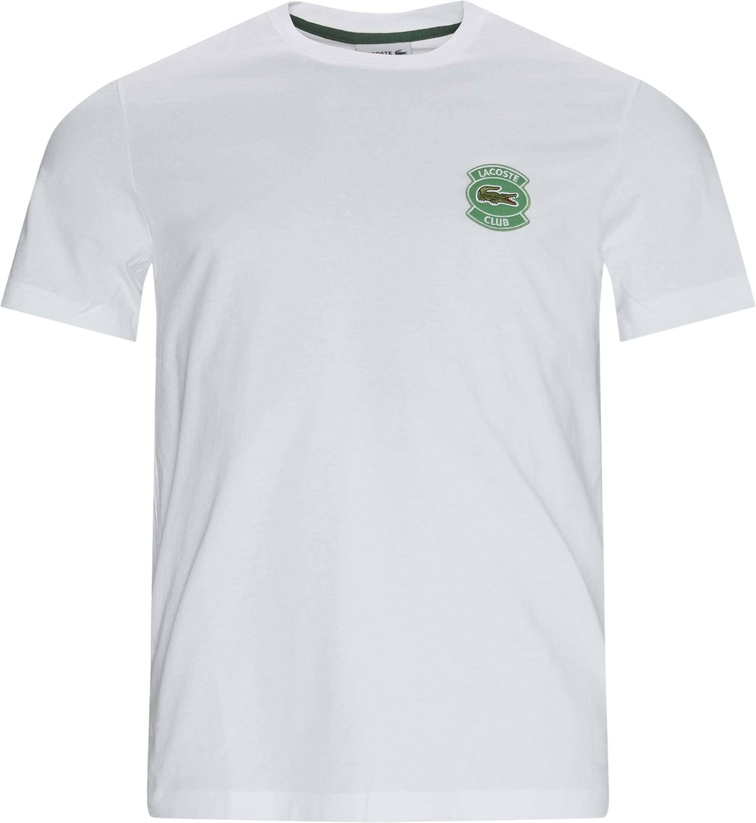 Logo Tee - T-shirts - Regular - White