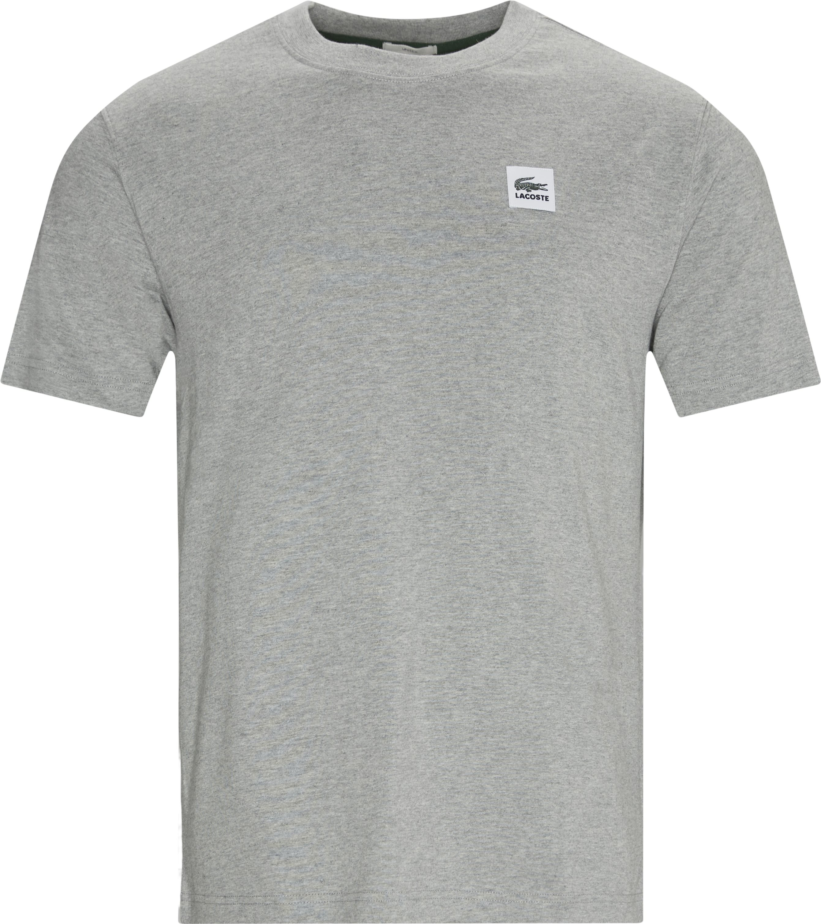 Logo Tee - T-shirts - Regular - Grey