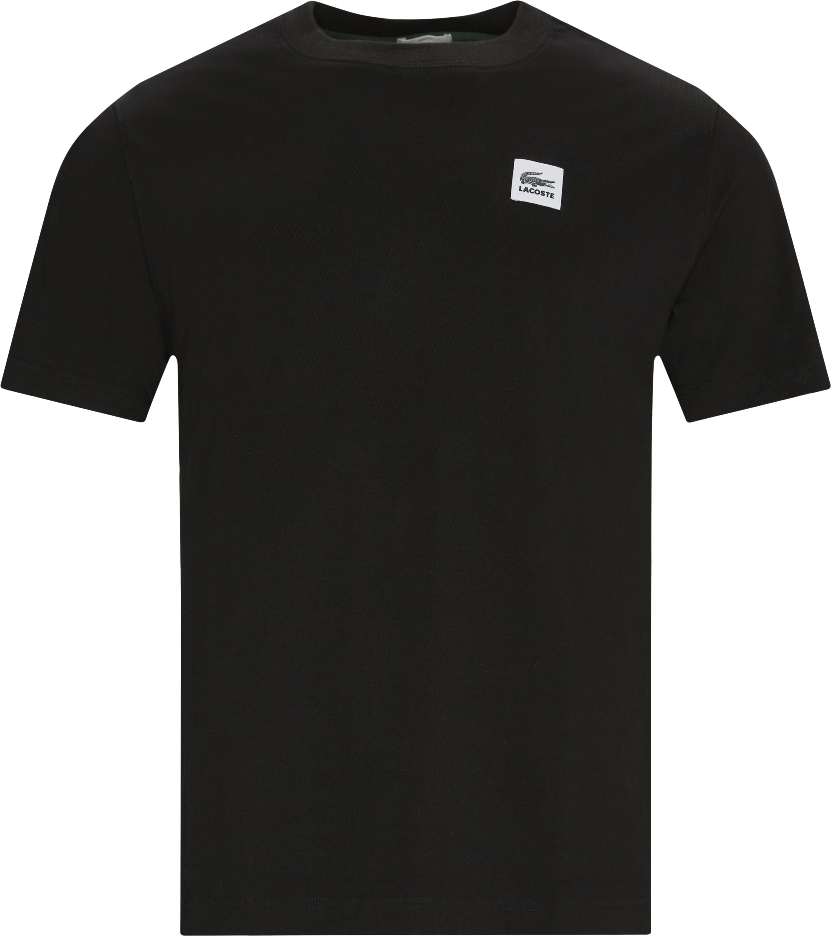 Logo Tee - T-shirts - Regular - Black