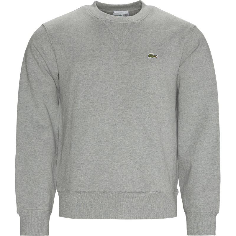 Køb Lacoste Sh1702 Crewneck Sweatshirt Grå