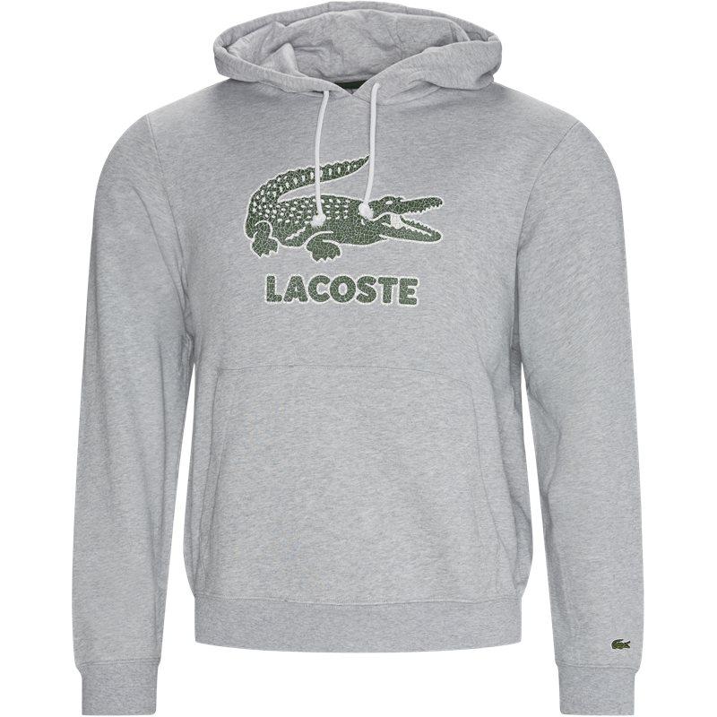 Køb Lacoste Sh0064 Hoodie Grå