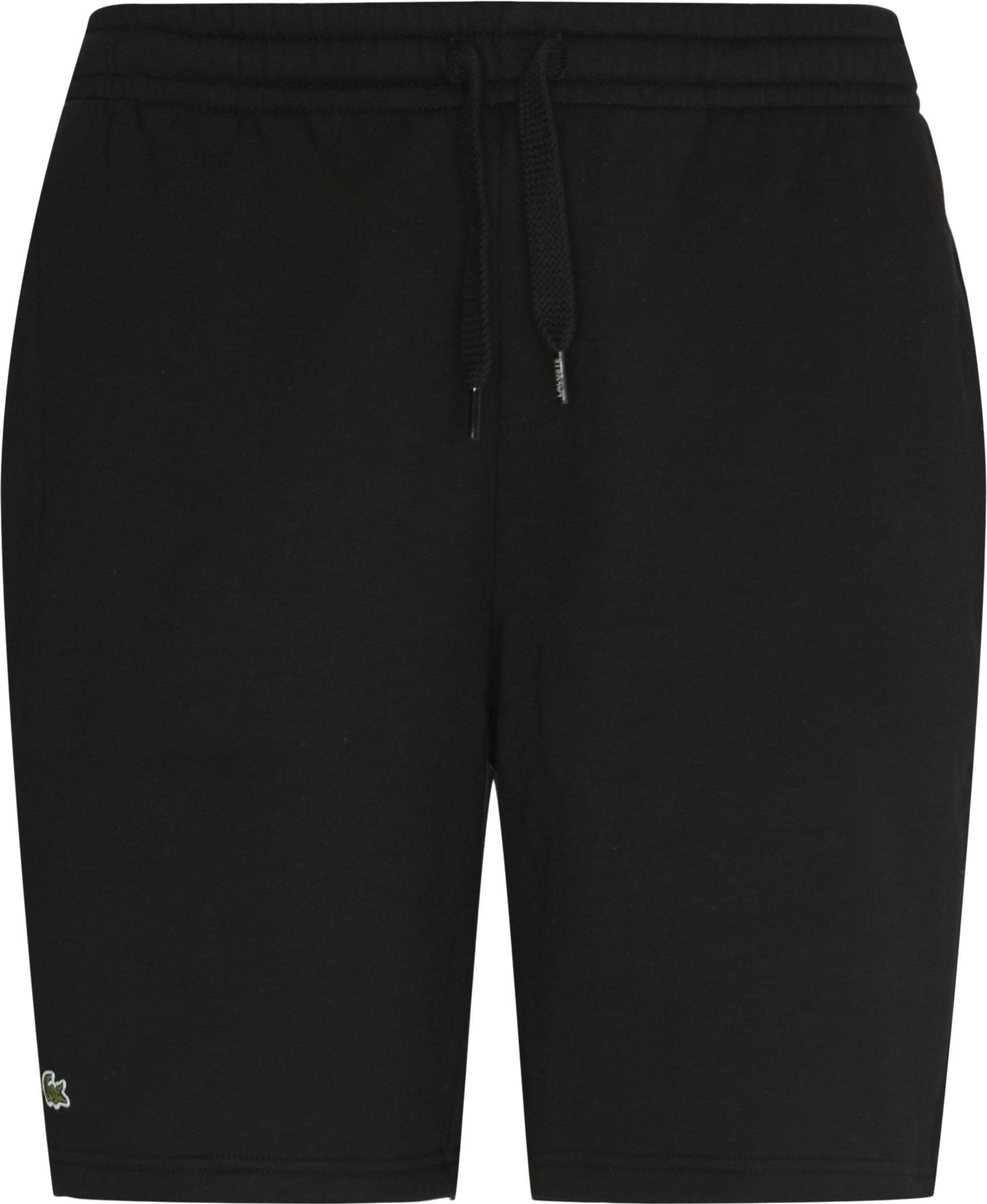 Tennis Fleece Shorts - Shorts - Regular - Sort