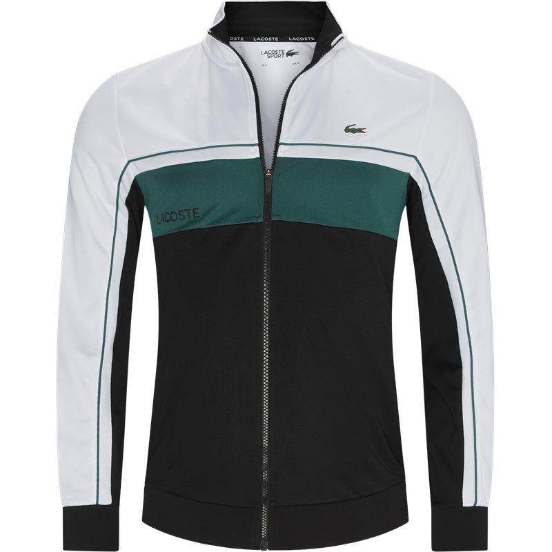 Køb Lacoste Sh9543 Zip Sweatshirt Hvid