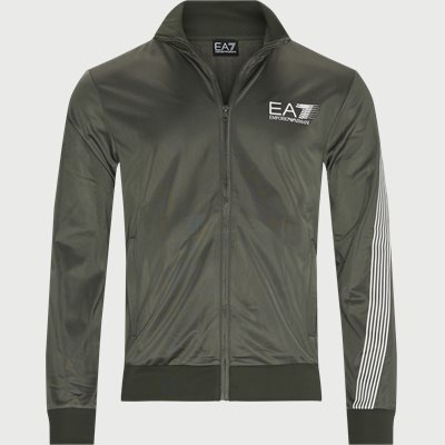 PJ08Z Logo Zip Track Jacket Regular | PJ08Z Logo Zip Track Jacket | Army