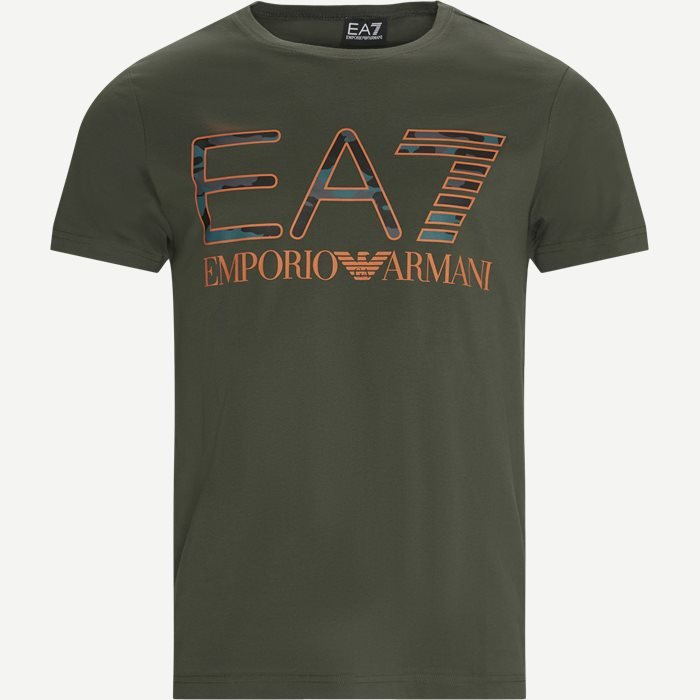 PJ7CZ Logo T-shirt - T-shirts - Regular - Army