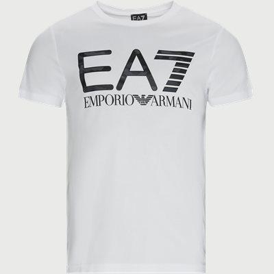 PJ7CZ Logo T-shirt Regular | PJ7CZ Logo T-shirt | Hvid