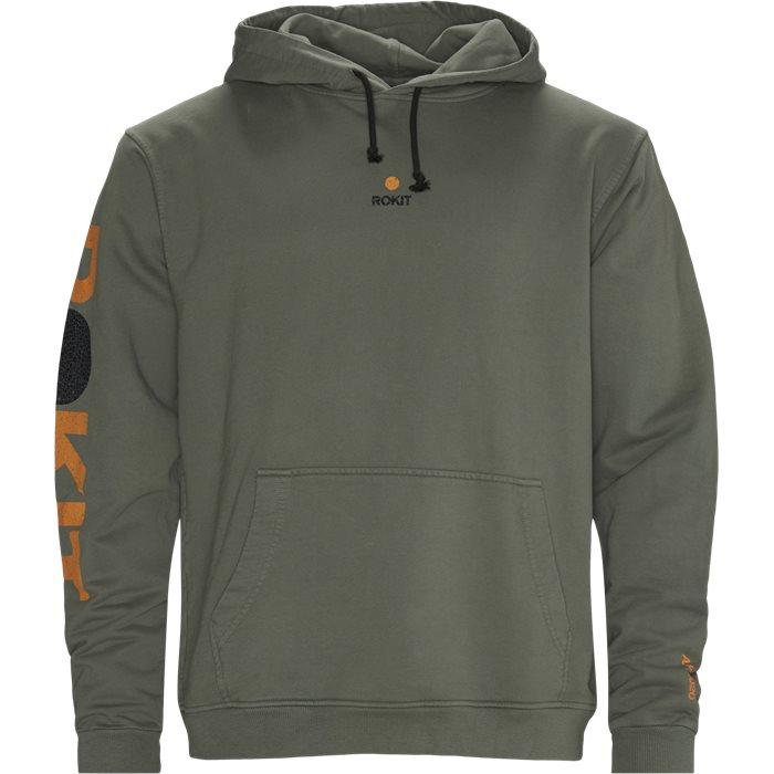 Sweatshirts - Grön