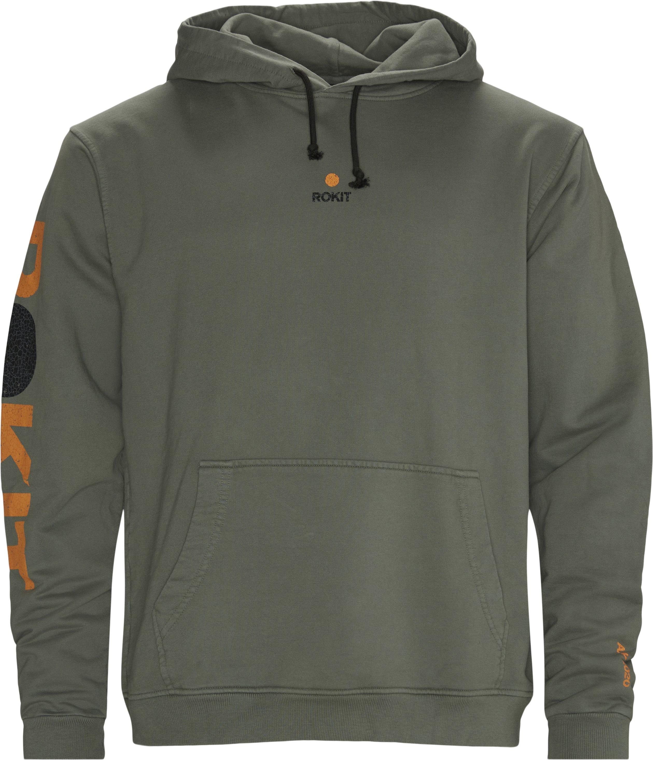 Sweatshirts - Loose fit - Grön