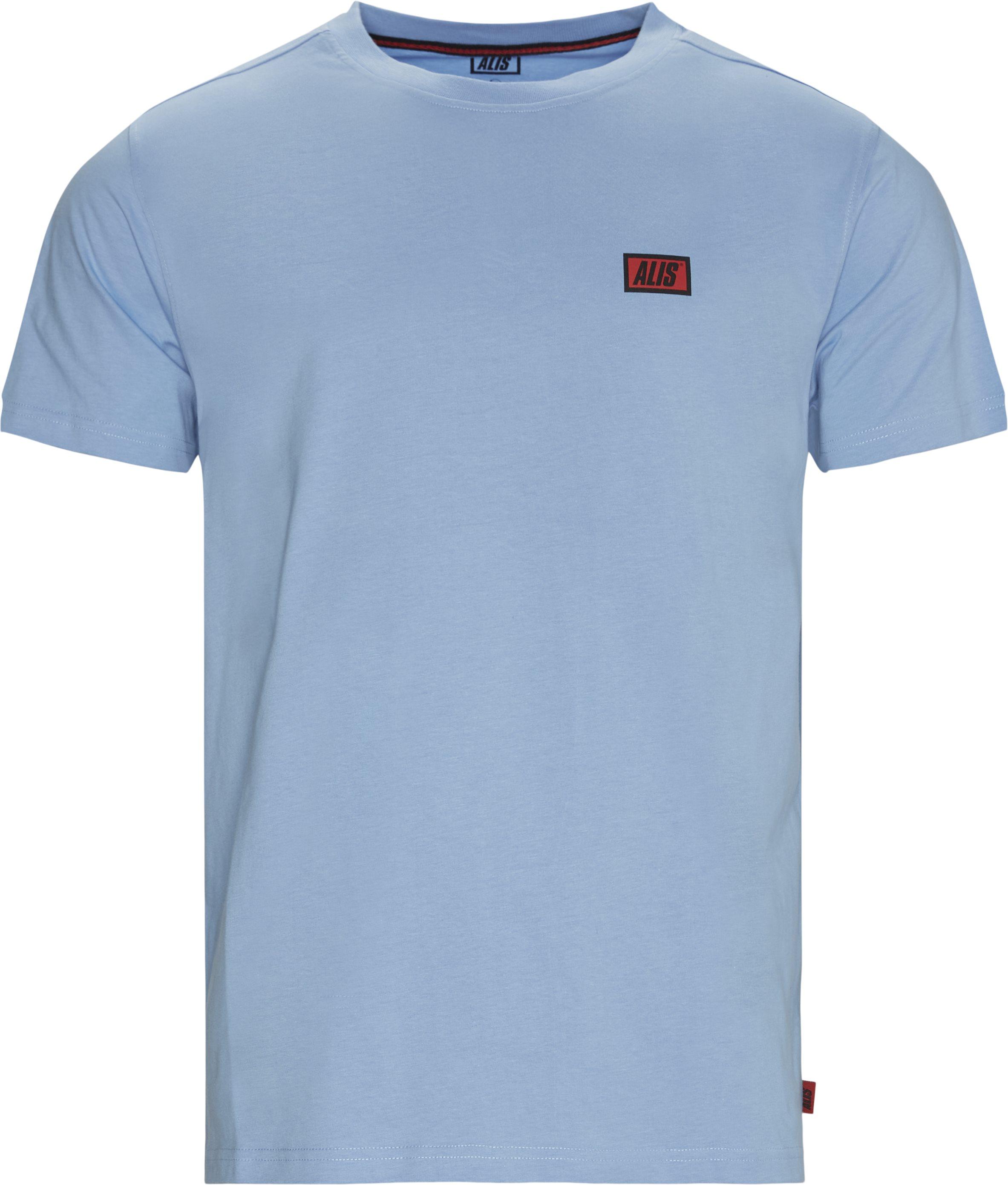 Am3001 Tee - T-shirts - Regular - Blå