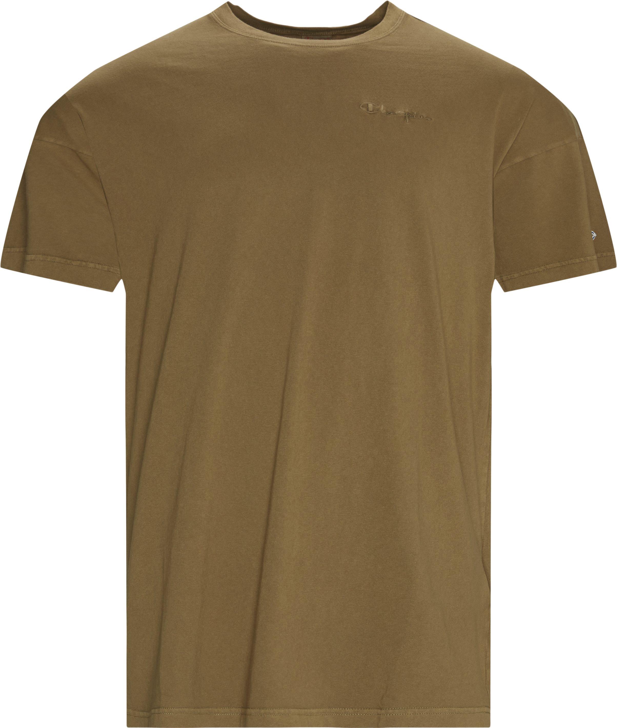 G D Tee - T-shirts - Regular fit - Grøn