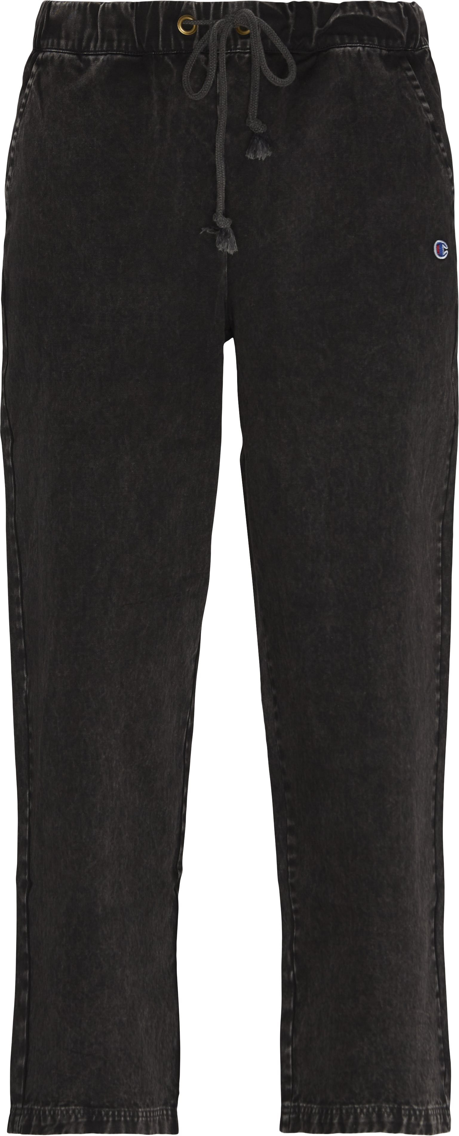 Trousers - Loose fit - Black