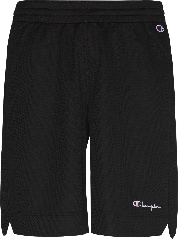 Mesh Shorts - Shorts - Loose fit - Sort