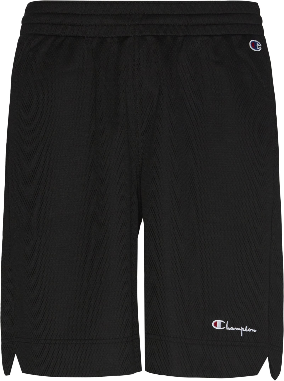 Shorts - Loose fit - Black